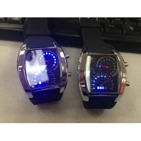 Reloj De Moda Con Velocimetro Y Luz Led
