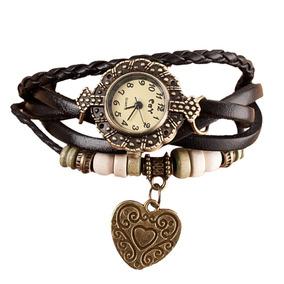 6c179742aab Relógio De Pulso Coração - Relógios De Pulso no Mercado Livre Brasil