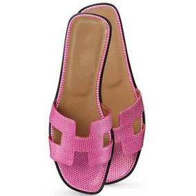 ee580f1b68f Sapato Em Couro De Cobra Rosa E Bege. Feminino - Sapatos no Mercado ...