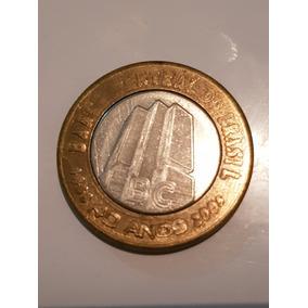 Moeda De 1 Real 40 Anos De Banco Central. 2005