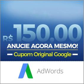 Cupom Google Adwords Ads R$150 Anuncie Ads - Envio Imediato