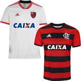 8aba468d4f 2 Camisa Do Flamengo 2018 Uniforme Blusa Promoção Envio 24hs