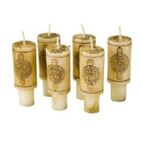 Decoglow Wine Country Collection 6 Piezas Set 3 Pulgadas De