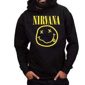 Buzo Nirvana Rock Espectacular Abrigado Capucha Somos Local!