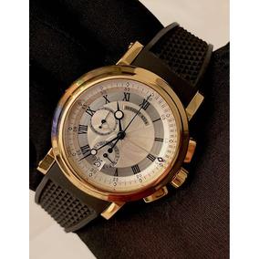 06367118806 Breguet Marine Chronograph De Ouro Amarelo 42mm