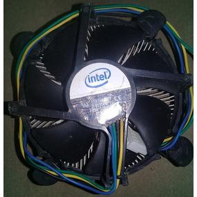 Fan Cooler Con Disipador Ventilador Para Computadora Intel 4