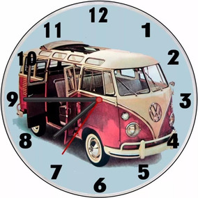 e17b458434c Relógio De Parede Kombi - Relógios no Mercado Livre Brasil