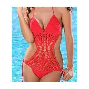 Body Em Crochê - Maiô Moda Verão