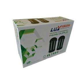 Sensor Barreira Infra Ativo Duplo Feixe 100 Metros Luxvision