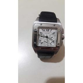 06862d9b7ec Relogio Cartier Santos Dumont Replica - Relógios