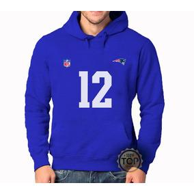 d4f438211d52f Blusa Frio Moletom Moleton New England Patriots + 12 +nfl