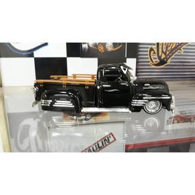 Miniatura Pick Up Chevrolet 1960 Jada Toys 1/24 Classica