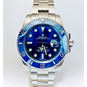 c79b8f0a1b6 Rolex Submariner Two Tone Blue - Relógios De Pulso no Mercado Livre ...