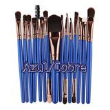 Set 18 Brochas Maquillaje Colores Económico Baratas + Envío