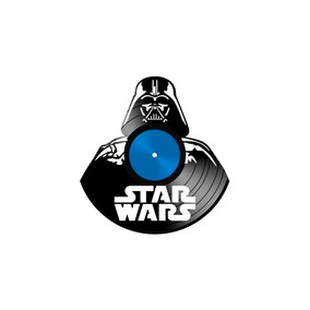 Arte Em Disco De Vinil Lp Geek Star Wars
