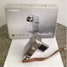Camara Fotografica Y Video Canon Power Shot Tx1 Compacta