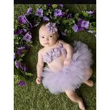 Tul Y Cintillo Para Bebes Y Niñas