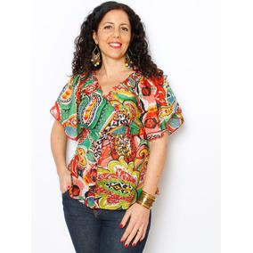 Camisas Estampadas Mujer Importadas - Ropa y Accesorios en Mercado ... 82005250768