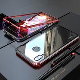 Funda Magnética De Metal Con Vidrio Huawei