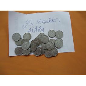 Lote Com 25 Moedas Nacionais 1000 Cruzeiros - 1993- Acará.