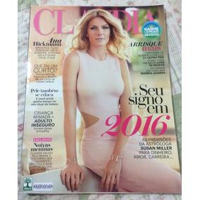 Revista Claudia Ana Hickmann Nº 652 Ano 2016