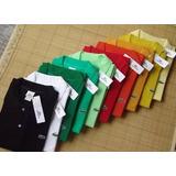 Kit 10 Camisa Gola Polo