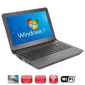 Notebook Positivo Unique Intel Atom 2gb 320gb - Usado