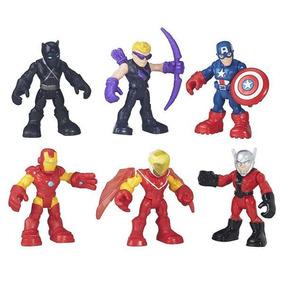 Playskool Heroes - Capitán América Súper Escuadrón De La Sel