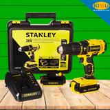 Taladro Percutor Inalambrico Stanley Bateria 20v Scd201c2k