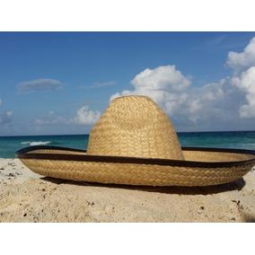 10 Sombrero Charro Paja Palma Adulto Mexico Fiesta Economico 265ab11c44b