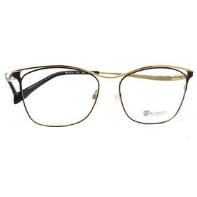 Óculos De Grau Bulget Bg1574 Metal By Flavia Alessadra
