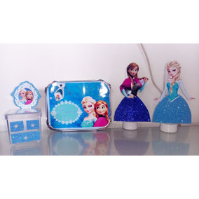 Kit Festa Infantil Personalizado Frozen 60 Peças - Promoção