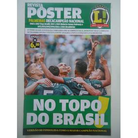 Palmeiras Decacampeão Brasileiro 2018 Poster Lance