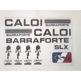 Adesivo De Bicicleta Caloi Barra Forte Slx