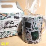 Regalo Para Navidad - Taza De Cerámica Y Con Caja