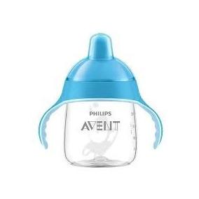 Avent - Taza Spout Premium 9oz Azul