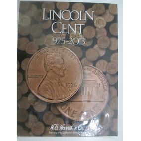 Álbum De Moedas Lincoln Cent 1975-2013 - Harris Incompleto