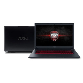 Notebook Gamer Avell G1711 Fox Gtx 1050ti Core I7+ 16gb Sshd