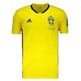 8f0c827c71 Rara Camisa Seleção Da Suécia - Futebol no Mercado Livre Brasil