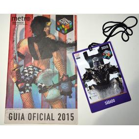 Guia Oficial Da Comic Con 2015 - Com Ingresso