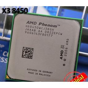 Amd Phenom X3 8450 + 4 Pentes De Memória Ddr2 De Brinde!!!