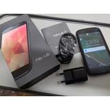 Celular Smartphone Lg Nexus 4 Preto Lg-e960 16g Mem Um Chip