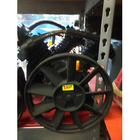 Cabezal 3hp Compresora De Aire 2 Pis En V Ideal 234 Litros