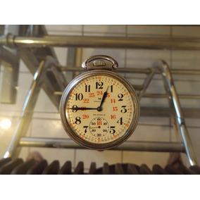 Reloj De Ferrocarrilero Original Hamilton