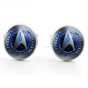 Mancuernillas Camisa Gemelos Pelicula Star Trek Steampunk