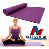 Mat De Yoga Colchoneta Fitnes 4mm En Variedad De Colores
