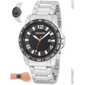 91359092ad4 Relogio Magnum Com Fundo Preto - Relógios no Mercado Livre Brasil