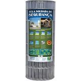 Tela Segurança Soldada 15x5 1,20x25m Fio 2,3mm Morlan