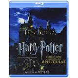 Harry Potter Colección Completa Boxset 8 Películas Blu-ray