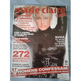 Revista Marie Claire Xuxa